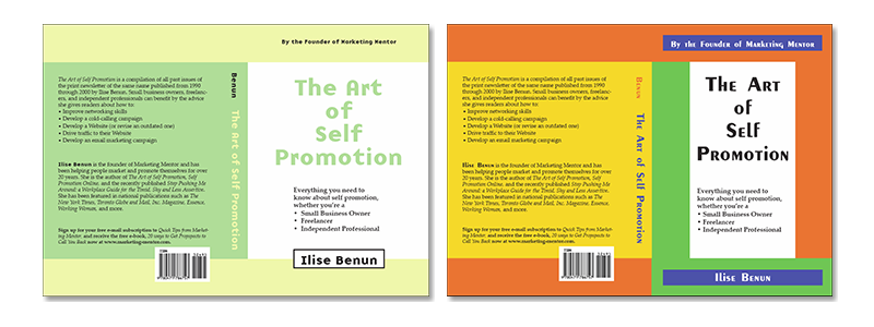 Art of Self Promotion Covers